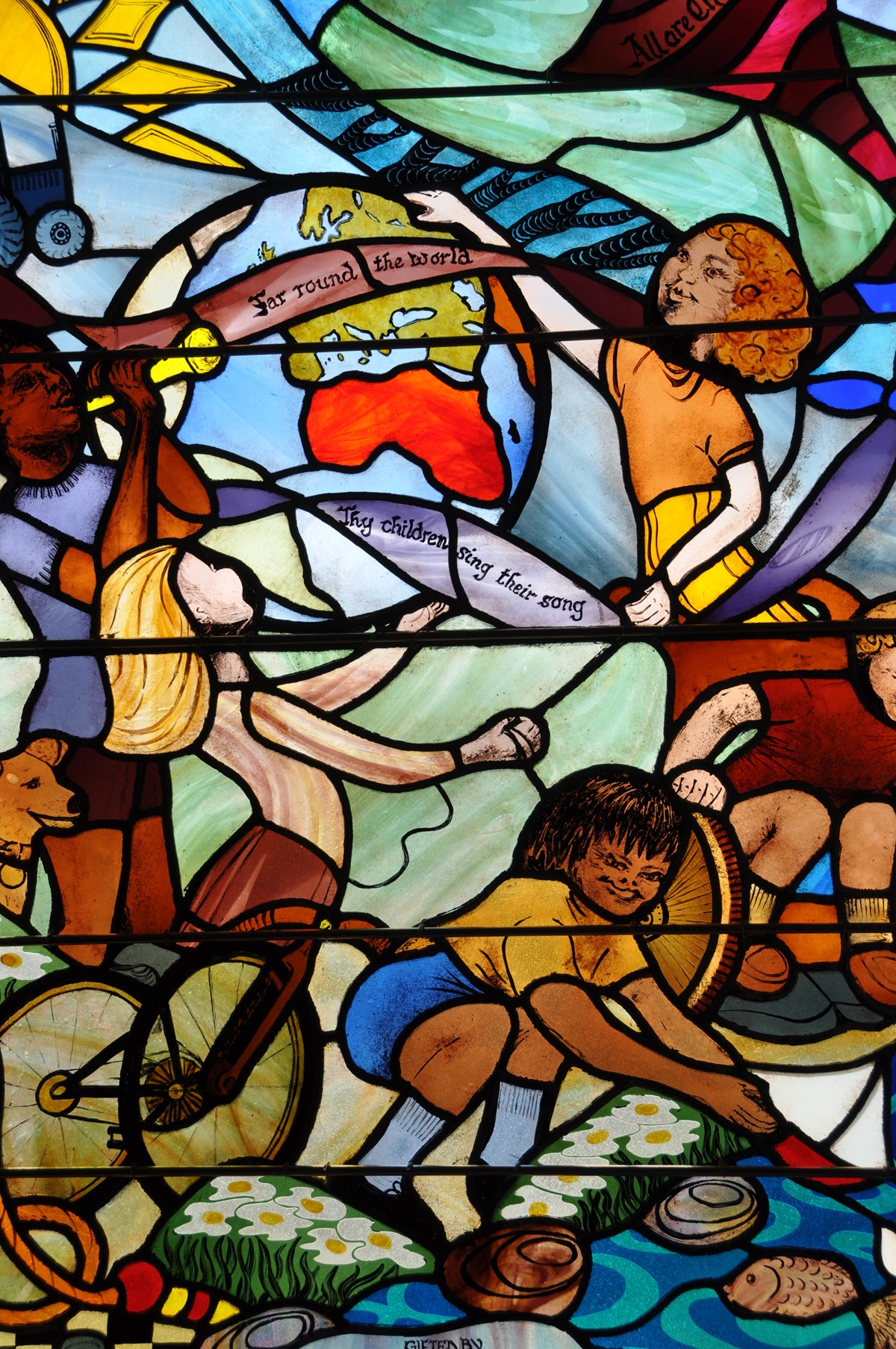 Stained Glass_Children